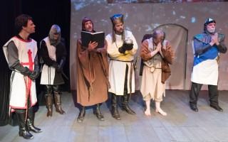 'Spamalot' at the Academy of Performing Arts.  (photo: Jeffrey Moore)