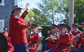 The Chatham Band helped lead off the parade. TIM WOOD PHOTO  (photo: )