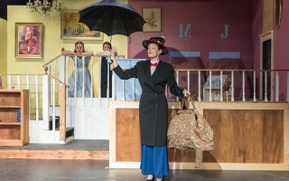 Rebecca Banas as Mary Poppins.  JEFF MOORE  PHOTO  (photo: Jeffrey Moore)
