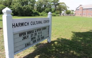 The Harwich Cultural Center at the former middle school.  FILE PHOTO  (photo: William F. Galvin)