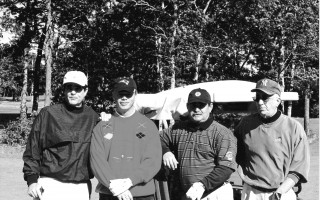 Winners of the Pals For Life Golf Tournament. L-R: George Payne, Richard McCarthy, Bill Southwick & Ron Messner. Oct. 2000.  FILE PHOTO  (photo: )