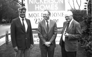 Staff and owners from Nickerson Homes. Circa 1980. FILE PHOTO  (photo: )