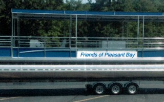 A rendition of the Friends of Pleasant Bay's proposed floating classroom. COURTESY FOPB  (photo: Courtesy FOPB)