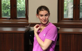 "Sarah Hale as the title character in Element's ""Sylvia."" COURTESY PHOTO  (photo: )"