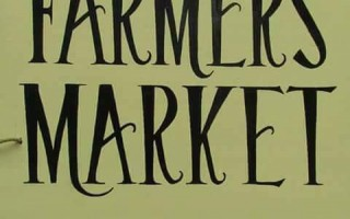 The Chatham Farmers Market sign created by artists Greta Ribb was stolen and then returned with a note of apology. COURTESY PHOTO  (photo: )