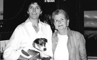 Sally Munson and her mother Barbara. FILE PHOTO  (photo: )