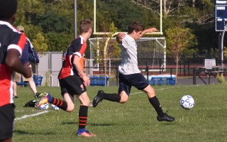 Monomoy and Cape Cod Tech sports get under way this week, including boys varsity soccer at MRHS this Friday against St. John Paul II at 6 p.m. Kat Szmit Photo  (photo: )