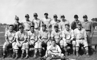 Chatham Baseball Team, 1946. Front row: Bob Eldredge, Leon Eldredge, Bob Farris, Prince Goodspeed, Bob Johnson, Ed Nickerson, Merril Doane and batboy Dickie Doane. Back row: Everett Eldredge, Francis Bremner, Francis Jones, Norman Jones, Willard Nickerson, Flavius Rogers, Coach George Temple, Manager Franklin Eldredge. COURTESY PHOTO  (photo: )
