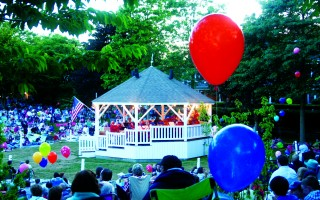 Balloons have been a tradition at Chatham Band concerts in Kate Gould Park for decades. Selectmen voted Tuesday to allow their sale to continue next summer, but concerns for the environment led for calls for a town-wide ban on balloon sales. FILE PHOTO  (photo: )