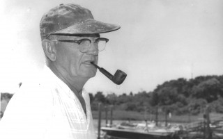 Harvey Bloomer retires after 57 years as fisherman, 1989. FILE PHOTO  (photo: )
