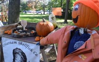 One of last year's Pumpkin People In The Park displays. This year's exhibit will go up Friday. FILE PHOTO  (photo: )