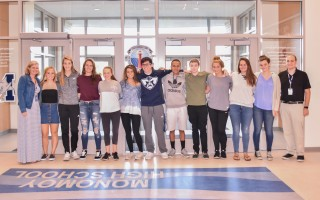 The junior class is looking to crown the first-ever Mr. Monomoy and raise funds for their 2018 prom through a special pageant Oct. 25. Kat Szmit Photo 