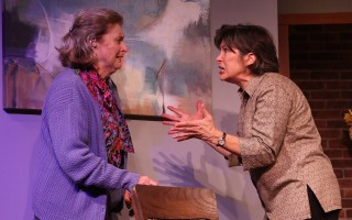 "Linda Monchik as Gladys and Cathy Ode as Ellen in ""The Waverly Gallery"" at the Eventide Theatre Company. BOB TUCKER/FOCALPOINT STUDIO PHOTO     (photo: )"