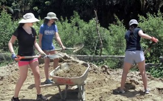 Students from New York take part in a service project through the Dominican Republic Education And Mentoring program. COURTESY PHOTO  (photo: Courtesy DREAM)
