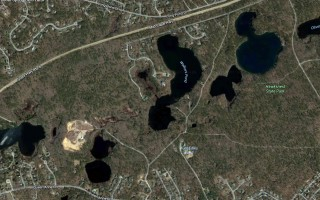 The Six Ponds District of Critical Planning Concern.  GOOGLE EARTH  (photo: Courtesy Google Earth)