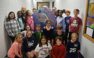 The staff of the Shark Tank Cafe. TIM WOOD PHOTO  (photo: )