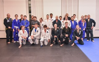 John Herring's jiu jitsu club at Monomoy Regional High School has expanded into a local weekly class at the Chatham Community Center. Kat Szmit Photo  (photo: )