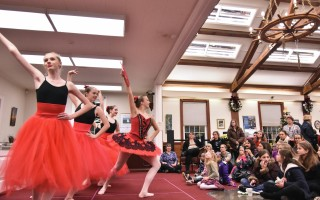 Dancers from the Reaching Hearts Dance Group perform the Nutcracker during Christmas in Harwich last year. FILE PHOTO  (photo: Kat Szmit)