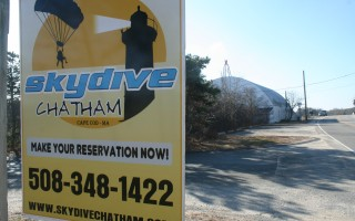 A report issued by the Federal Aviation Administration Tuesday says Chatham Airport is safe for skydiving. Tandem parachuting ended at the airport in 2013 when the town refused to renewed Skydive Cape Cod's contract. The company is suing the town for breach of contract; a neighborhood group is also suing the town to prevent the return of skydiving. FILE PHOTO  (photo: )