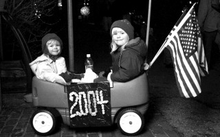 Youngsters celebrating the new year at Chatham's First Night. 2004. FILE PHOTO  (photo: )