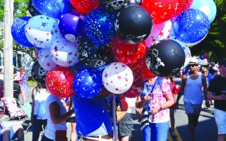 A ban on the sale of balloons at parades and band concerts will go before voters at the May annual town meeting, but selectmen want the language of the proposed bylaw changed to allow private sale and use of balloons. FILE PHOTO  (photo: Tim Wood)