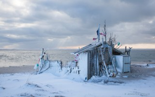 The shanty just south of Lighthouse Beach. JENNIFER STELLO PHOTO  (photo: Jennifer Eldredge Stello )