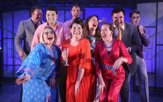 "The cast of ""Merrily We Roll Along"" at Cape Rep. BOB TUCKER/FOCALPOINT STUDIO  (photo: )"