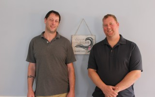 Glen Jamieson and Matt Rosadini will be opening Capeside Kitchen, a new restaurant at the former site of Bonatt's Bakery and Restaurant location along Route 28 in Harwich Port. The restaurant is scheduled to open on Thursday and will be serving breakfast and lunch. WILLIAM F. GALVIN PHOTO  (photo: William F. Galvin)