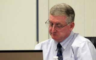 Selectmen approve a 2 percent raise for Town Administrator Christopher Clark based on his evaluation. WILLIAM F. GALVIN PHOTO  (photo: William F. Galvin)