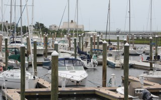 The Town of Harwich is once again revisiting the idea of allowing owners of deep-draft boats to lease a section of the Saquatucket Harbor Parking Lot. FILE PHOTO  (photo: William F. Galvin)