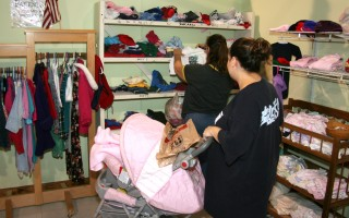 "The Family Pantry doesn't just provide groceries. Working families can ""shop"" the free boutique for used clothing and other household items, too. FILE PHOTO  (photo: )"