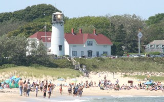 The excellent water quality at area beaches is one reason the Lower Cape is a popular destination for swimmers and sunbathers. FILE PHOTO  (photo: Alan Pollock)