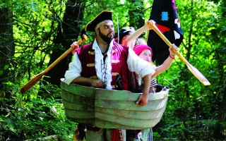 "A scene from ""How I Became A Pirate"" at Cape Rep Theatre. COURTESY PHOTO  (photo: )"