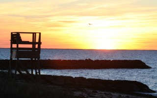 Sunrise over Nantucket Sound.  FILE PHOTO  (photo: Alan Pollock)