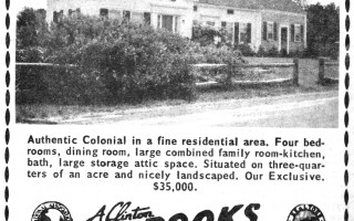 Real estate advertisements in The Lower Cape Cod Chronicle from 1970.  (photo: )
