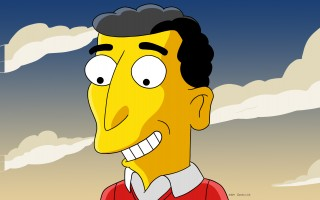 Author Mike Reiss (as interpreted by Simpson's creator Matt Groening).  (photo: )