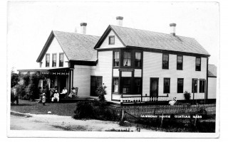 The Hammond House. Early 1900s. photo courtesy of David St. Germain  (photo: )