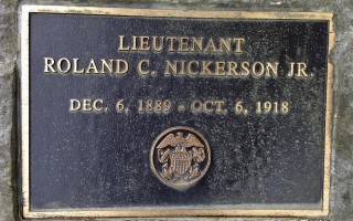 Roland C. Nickerson Jr. was serving in the U.S. Naval Reserve Force in Washington, D.C. when he caught the Spanish Flu and died. DEBRA LAWLESS PHOTO  (photo: )