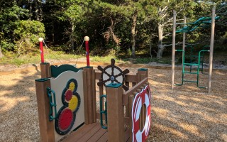 The new playground at the South Chatham Park, off Judy's Lane. ALAN POLLOCK PHOTO  (photo: Alan Pollock)