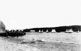Stage Harbor Yacht Club race, late 1930s. Photo courtesy of Susan Mulgrew  (photo: )