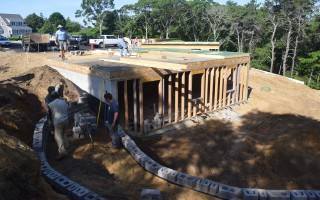 A Habitat for Humanity home in West Chatham under construction.  FILE PHOTO  (photo: )