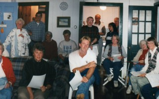 The first meeting of the Friends of Forest Beach at the Sullivan cottage, on Oct. 10, 1998. COURTESY PHOTO  (photo: )
