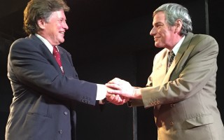 "Phillip Scudder and Ted Vitale in ""Bill W. and Dr. Bob.""  (photo: )"