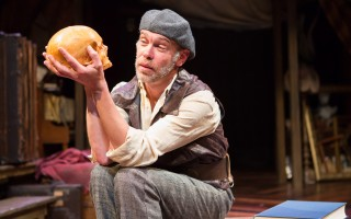 "Louis Butelli in ""Gravedigger's Tale"" at Wellfleet Harbor Actor's Theater.     (photo: )"