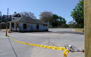 The former Eldredge Garage filling station. FILE PHOTO  (photo: Alan Pollock)