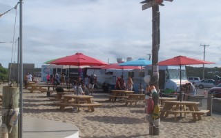 Signs are positive for a return of food truck concessions to Nauset Beach next summer.  CHRONICLE FILE PHOTO  (photo: )