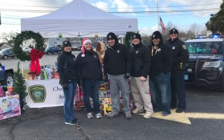 The Chatham Police Association held a toy drive last weekend, and was overwhelmed with donations. COURTESY PHOTO  (photo: )