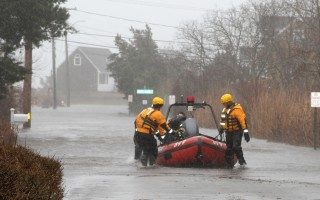 The surge from a coastal storm on March 2 stranded a woman in her home. FILE PHOTO  (photo: Alan Pollock)