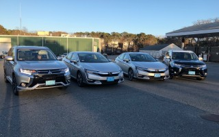 Chatham's new fleet of plug-in hybrid vehicles. COURTESY PHOTOS 