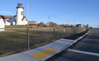 Sidewalks in the Old Village from the Chatham Lighthouse to Shore Road were recently upgraded, part of a comprehensive sidewalk plan. TIM WOOD PHOTO  (photo: )